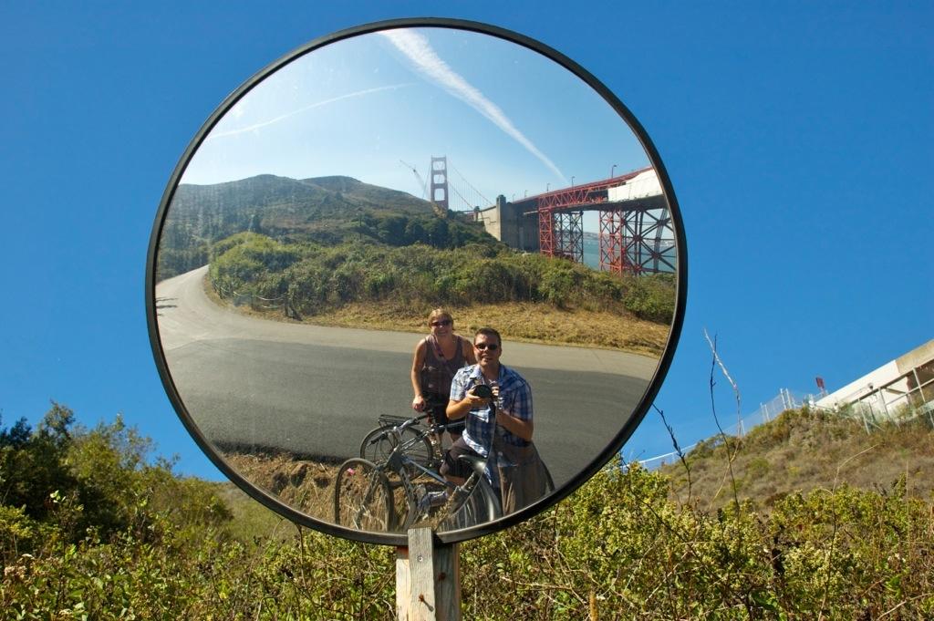 Golden Gate Brigde in San Fransisco