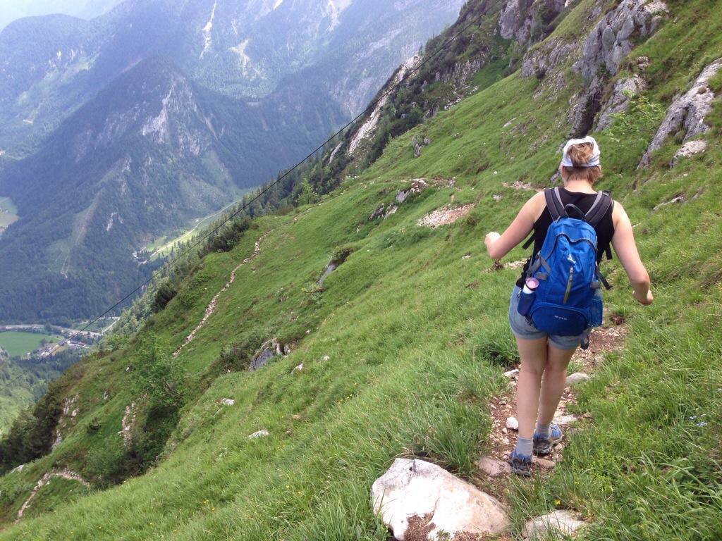 Marcella op de Lofer Alm in Oostenrijk