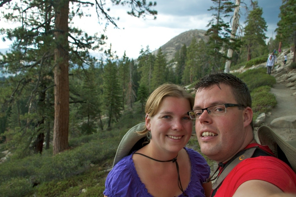 Jan en Marcella in Yosemite