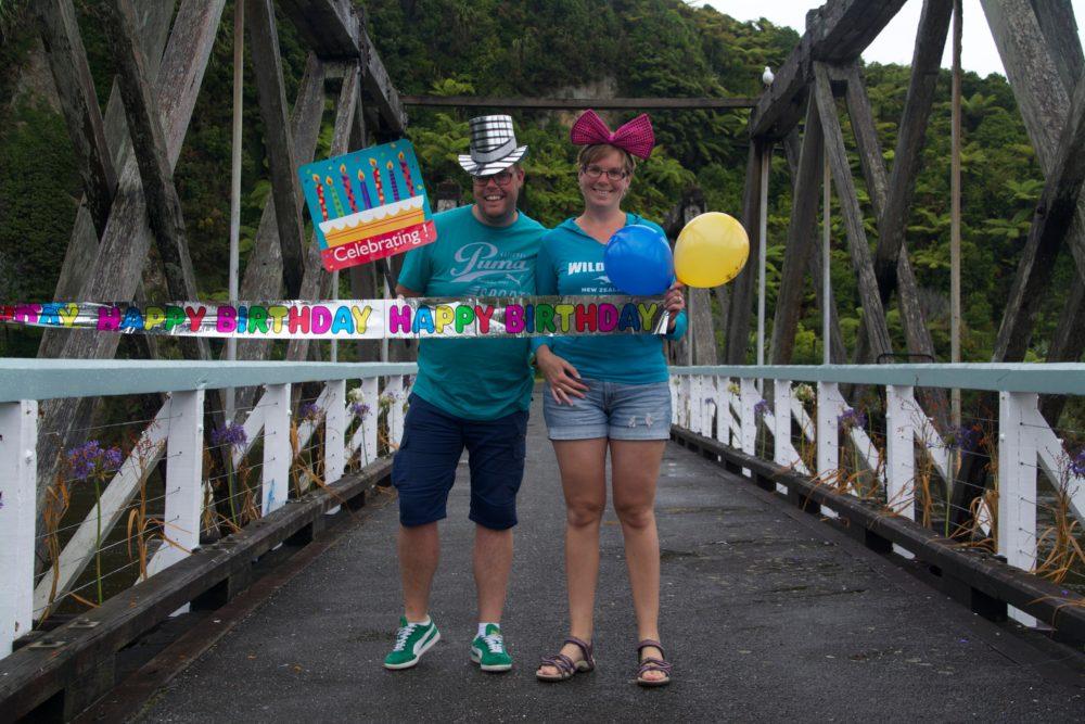 Verjaardagskaart Nieuw-Zeeland
