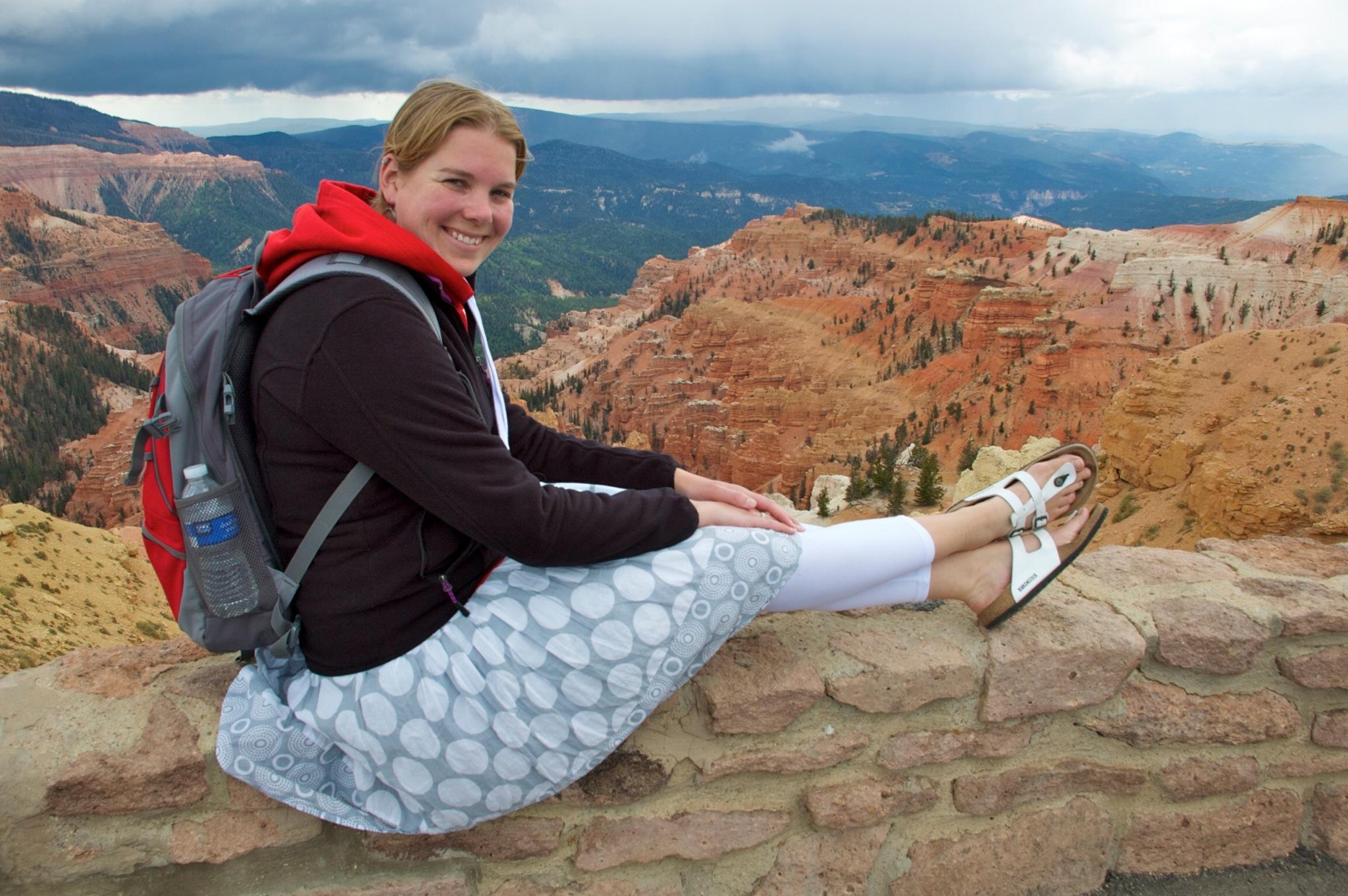 Marcella in National Monument Cedar Breaks