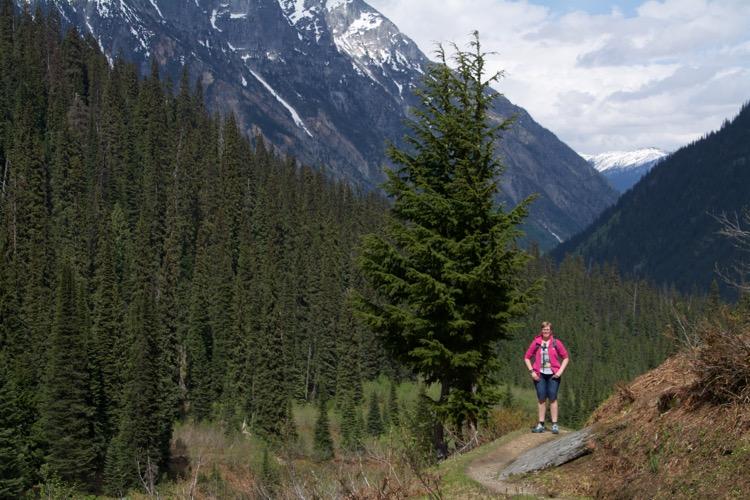 Marcella, Glacier National Park, Canada