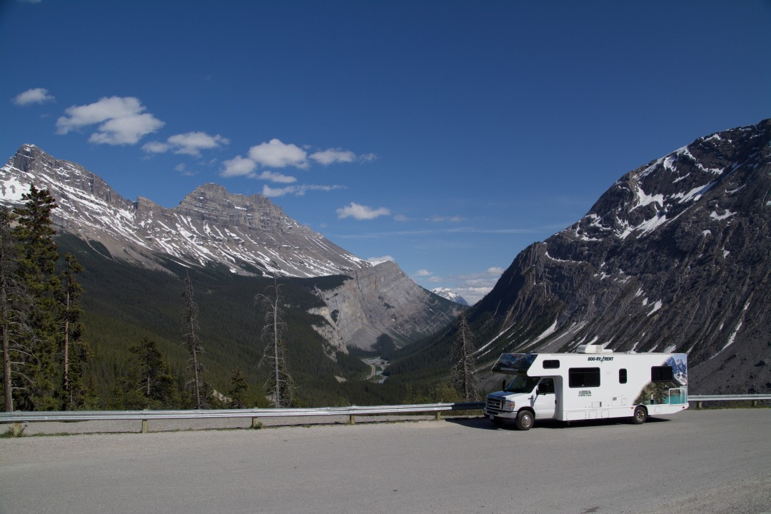 Camper Icefields Parkway, Canada