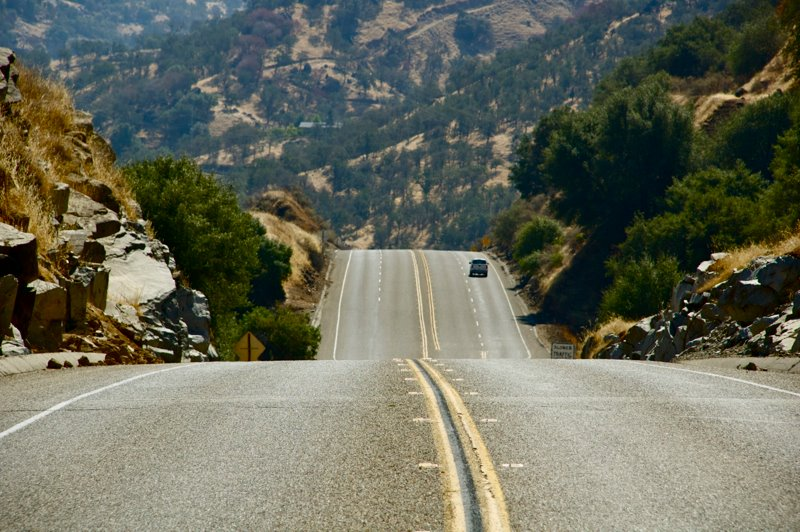 Oneindige wegen in Amerika