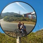 Fietsen in San Fransisco, Amerika