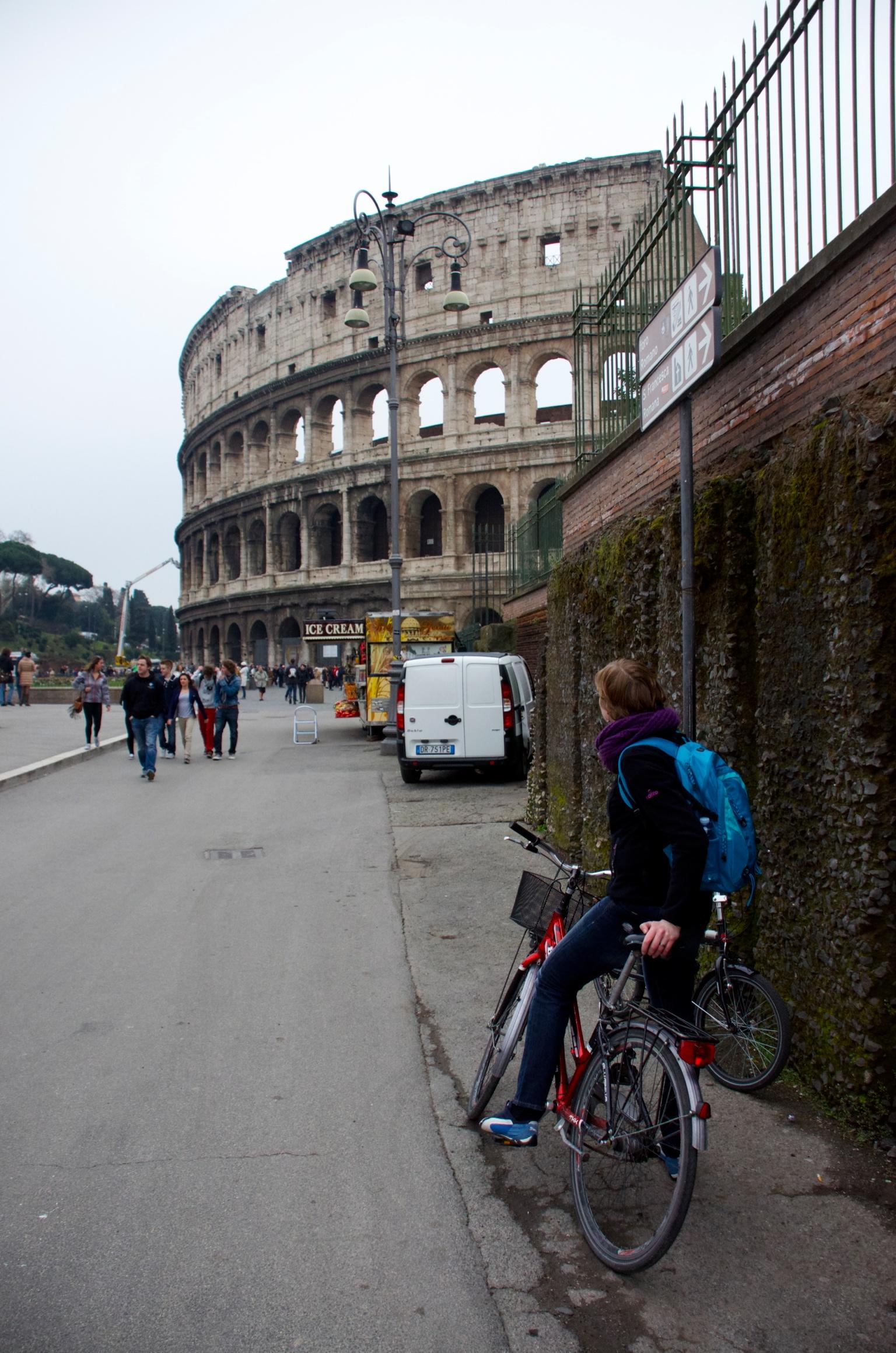 Fietsen in Rome