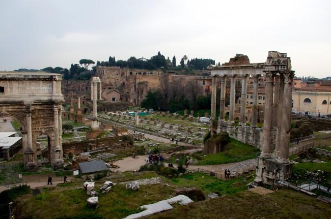 Forum Romarum, Rome