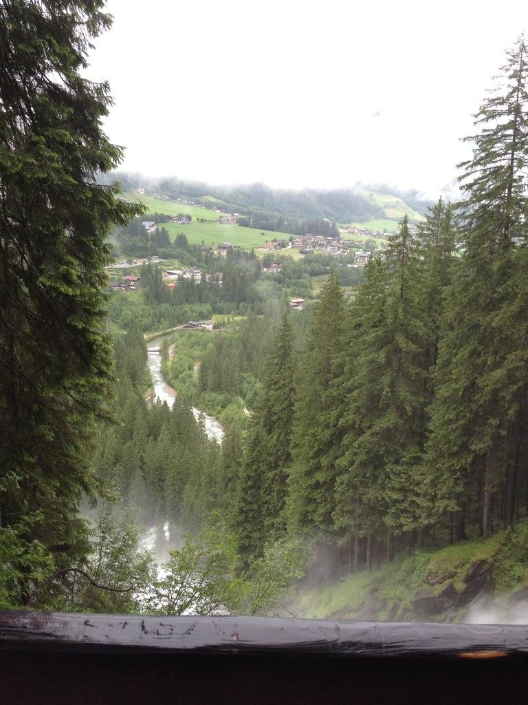 Krimml Wasserfall in Salzburgerland, Oostenrijk