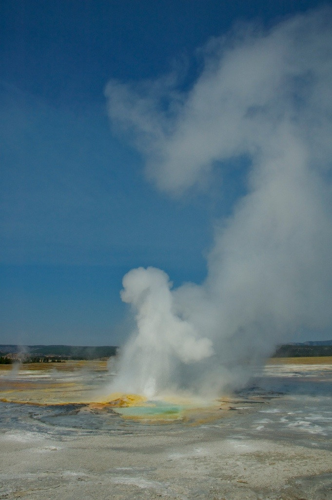 Geiser Yellowstone National Park