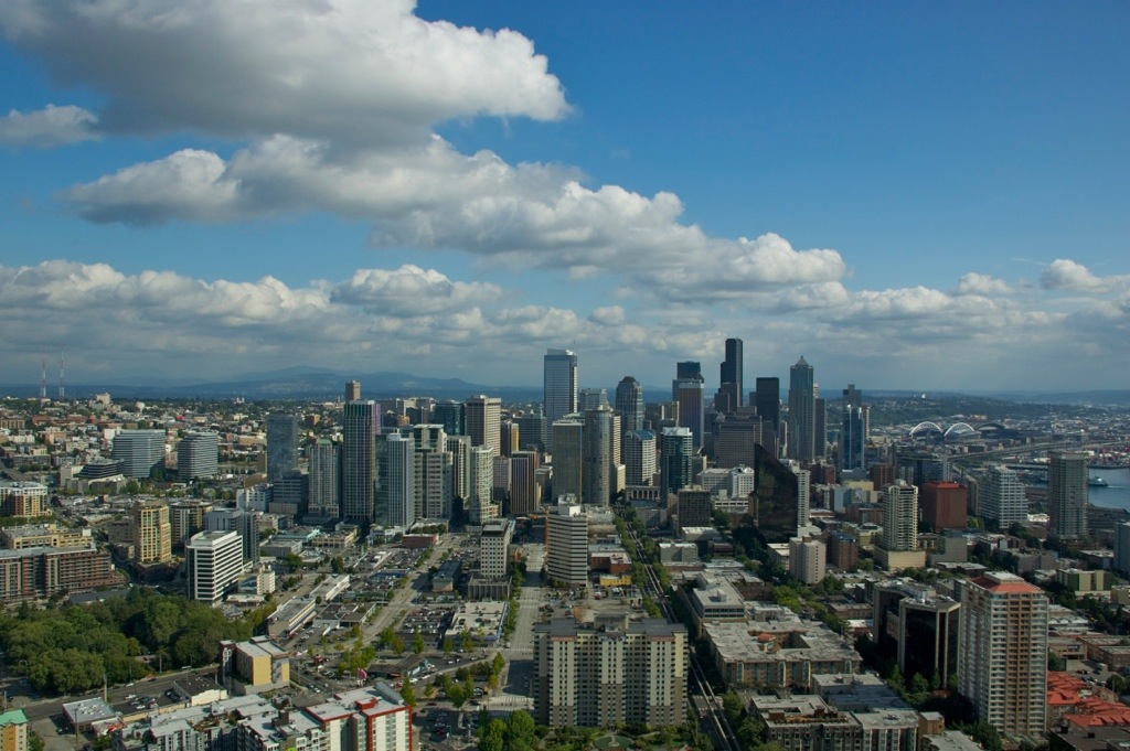 Skyline Seattle, Amerika