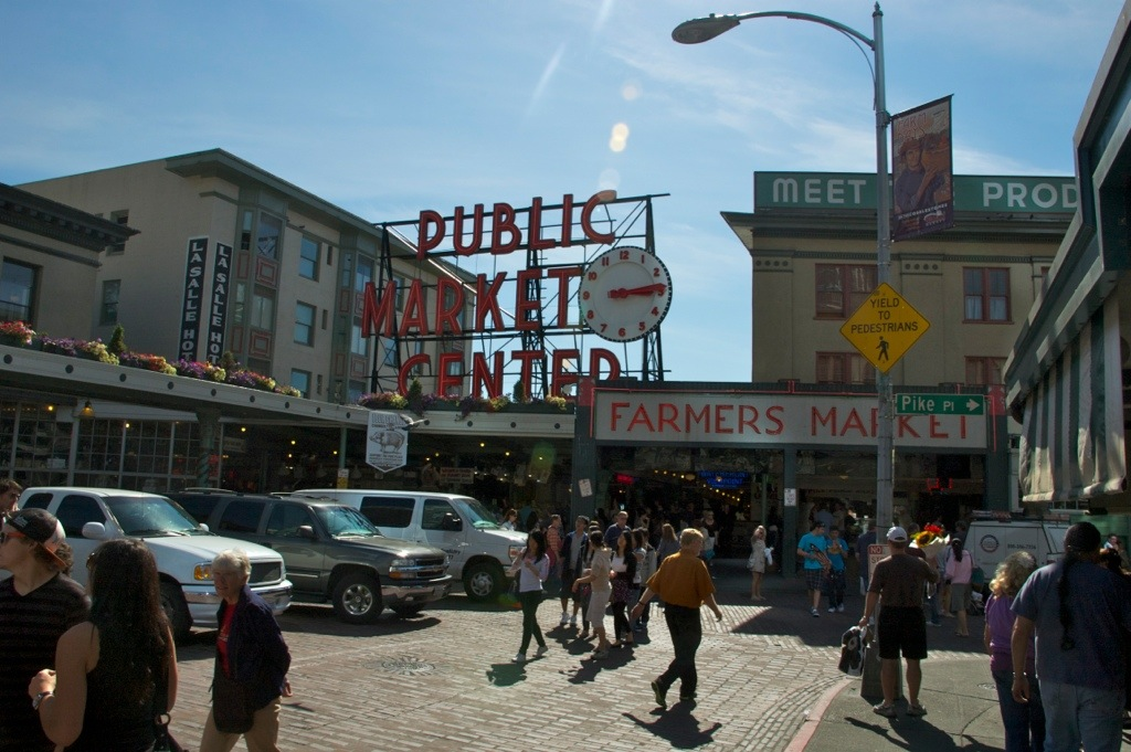 Pike Place Market Seattle, Amerika