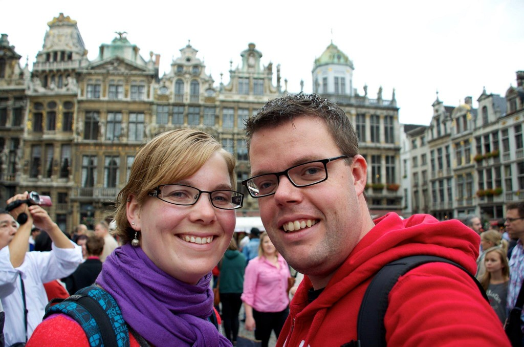 Jan en Marcella in Brussel, België
