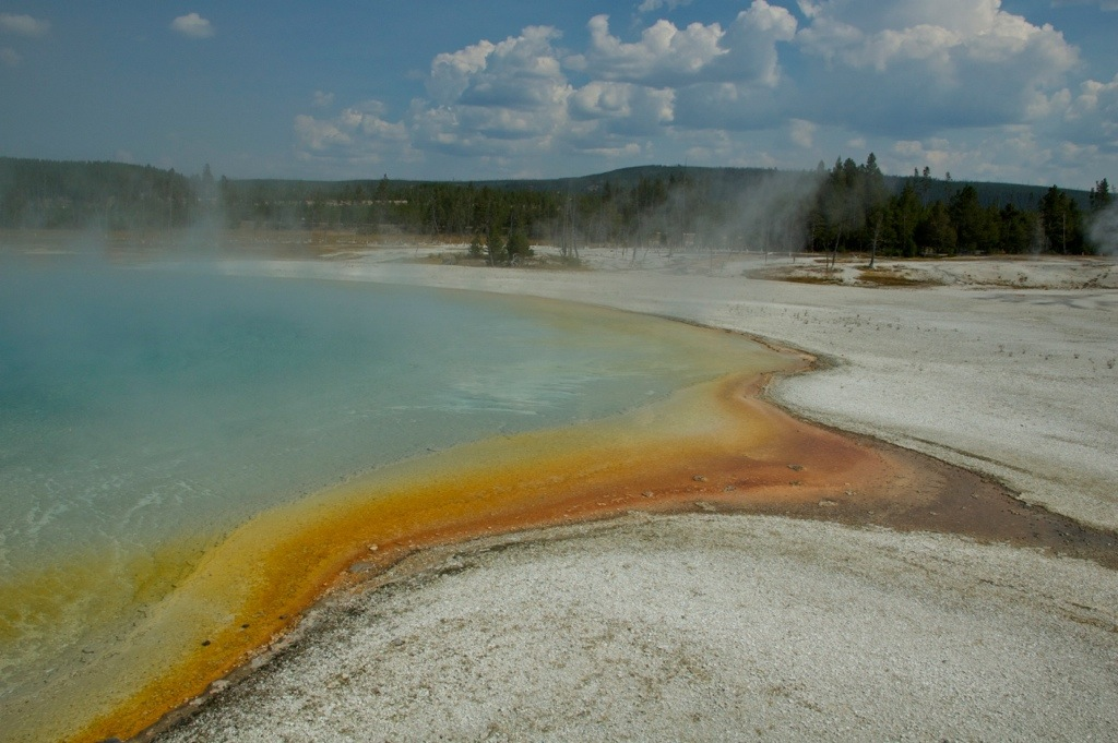 Yellowstone National Park America