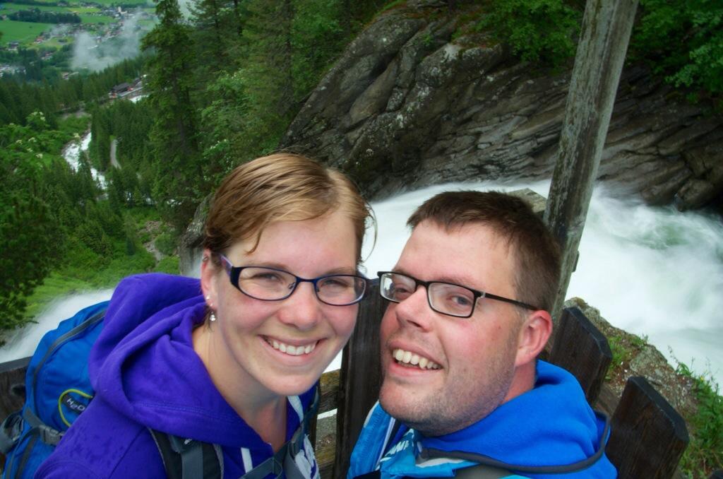 Jan en Marcella in Oostenrijk