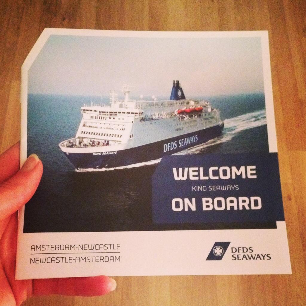 DFDS Seaways van IJmuiden naar Newcastle