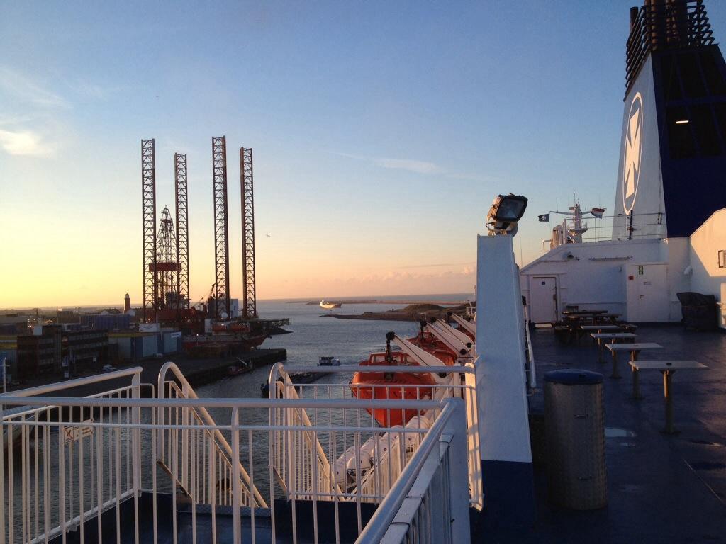 Boot DFDS Seaways naar Newcastle