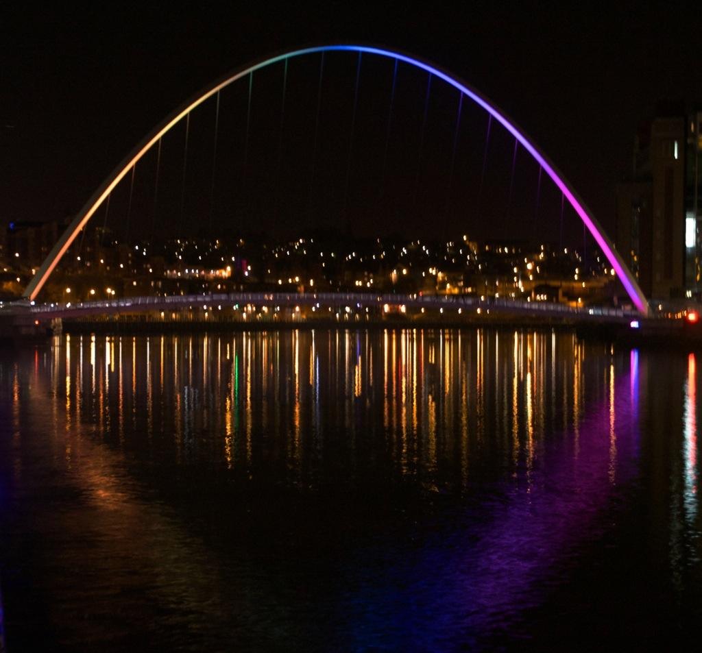 De bruggen van Newcastle, Engeland