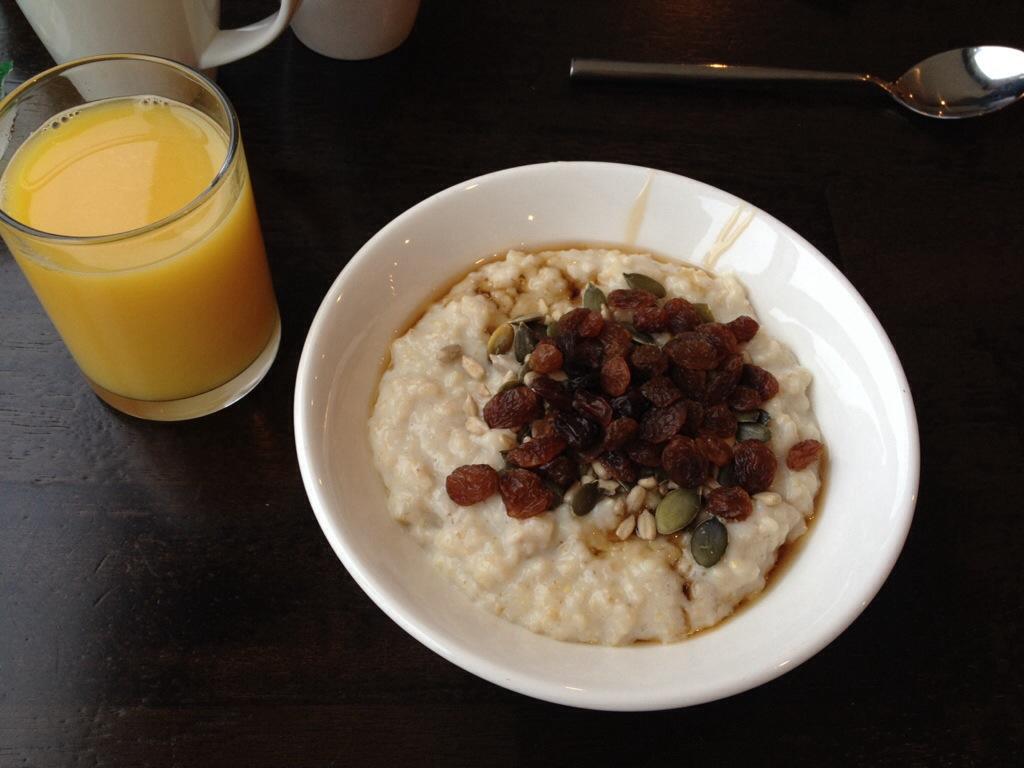 Ontbijt bij Jury's Inn