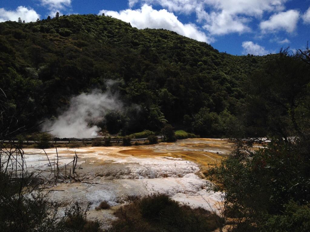 Rotorua in Nieuw-Zeeland