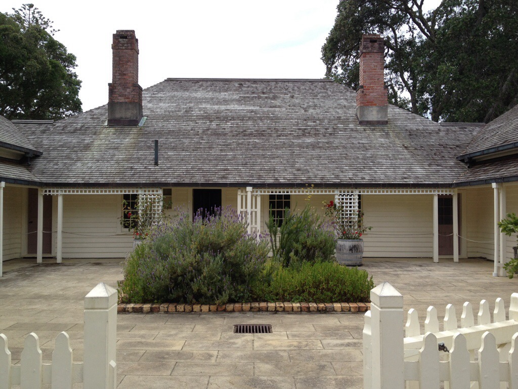 Treaty house in Waitangi, New Zealand