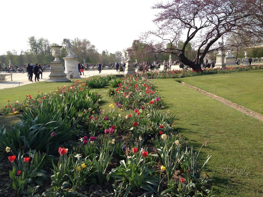 Jardins des Tuileries, Parijs