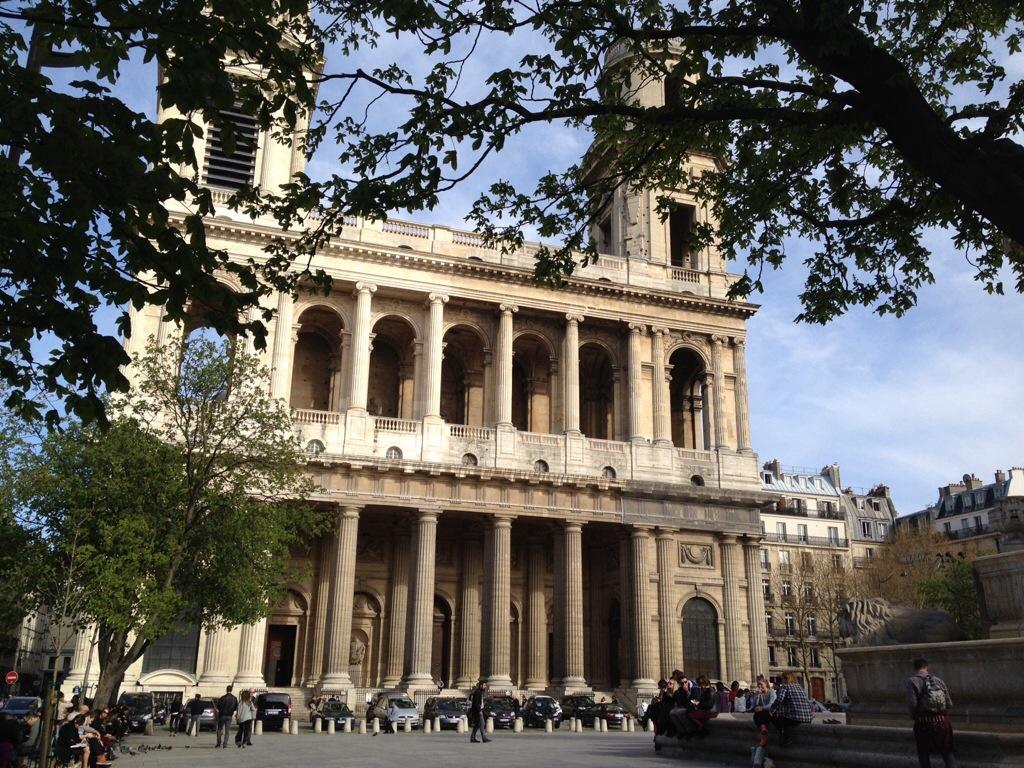 Kerk in Parijs