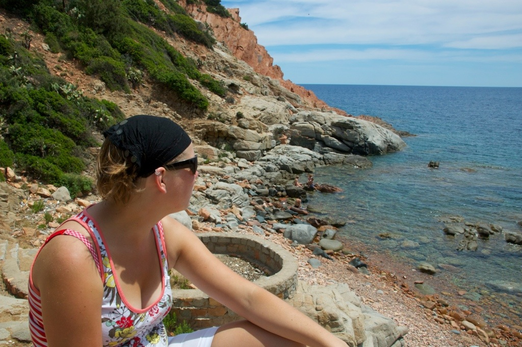 Marcella op Sardinië, Italië