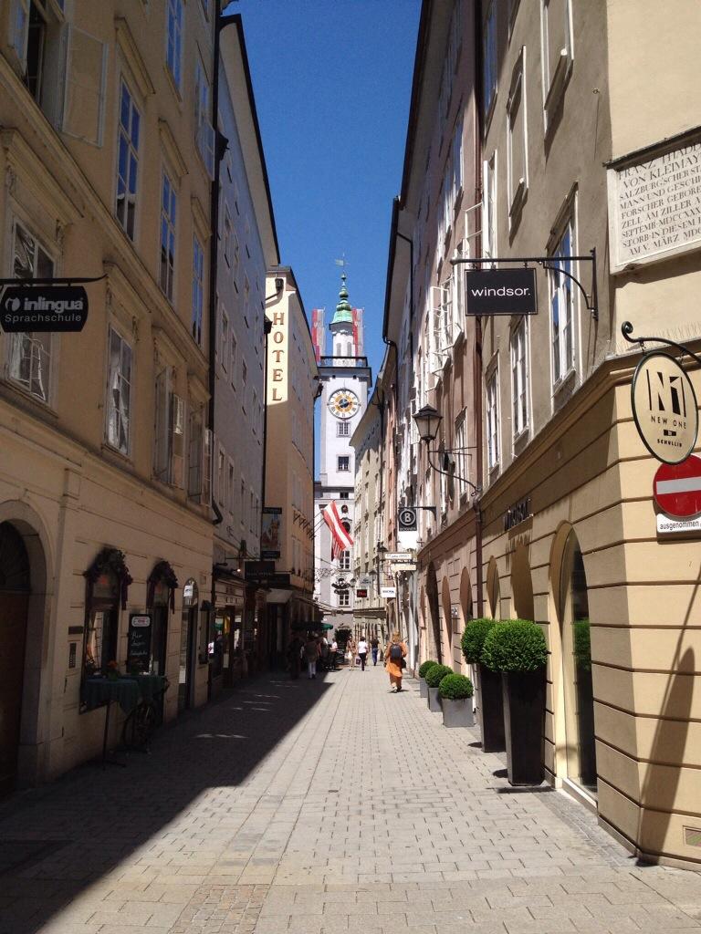Salzburg in Oostenrijk