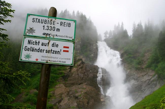Krimml Wasserfalle, Austria