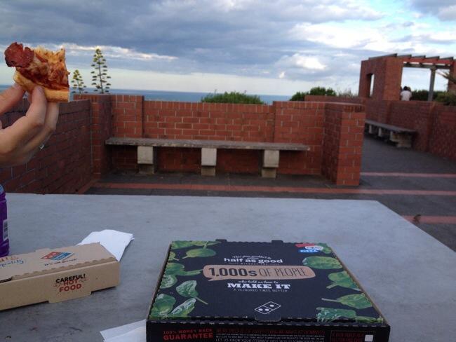 Pizza in Napier, New Zealand