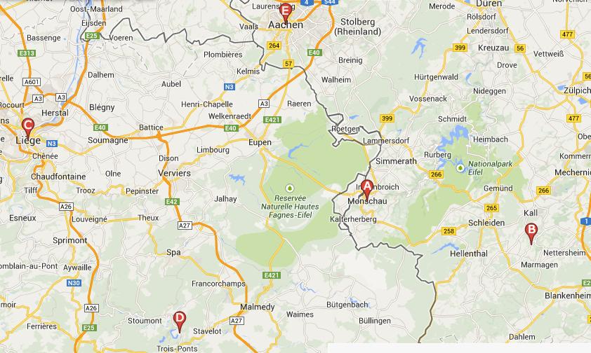 Route Eifel 2014
