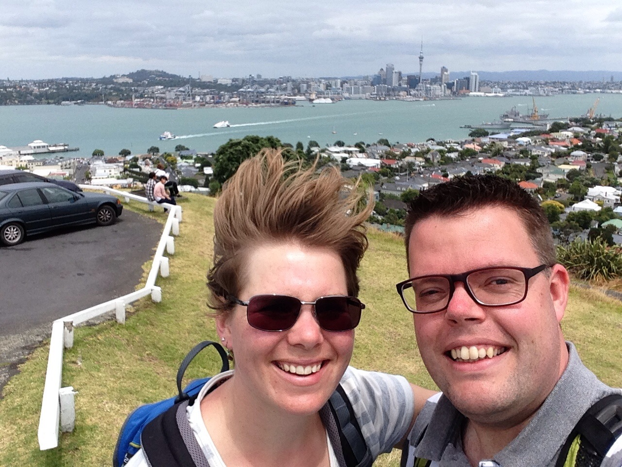 Jan en Marcella, Auckland