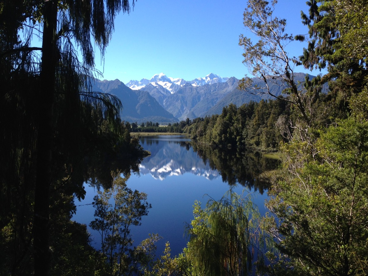 View of views, Lake Matheson