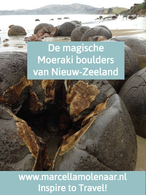 Mouraki boulders Nieuw-Zeeland