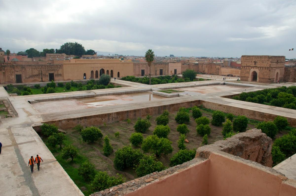 El-Badipaleis, Marrakech
