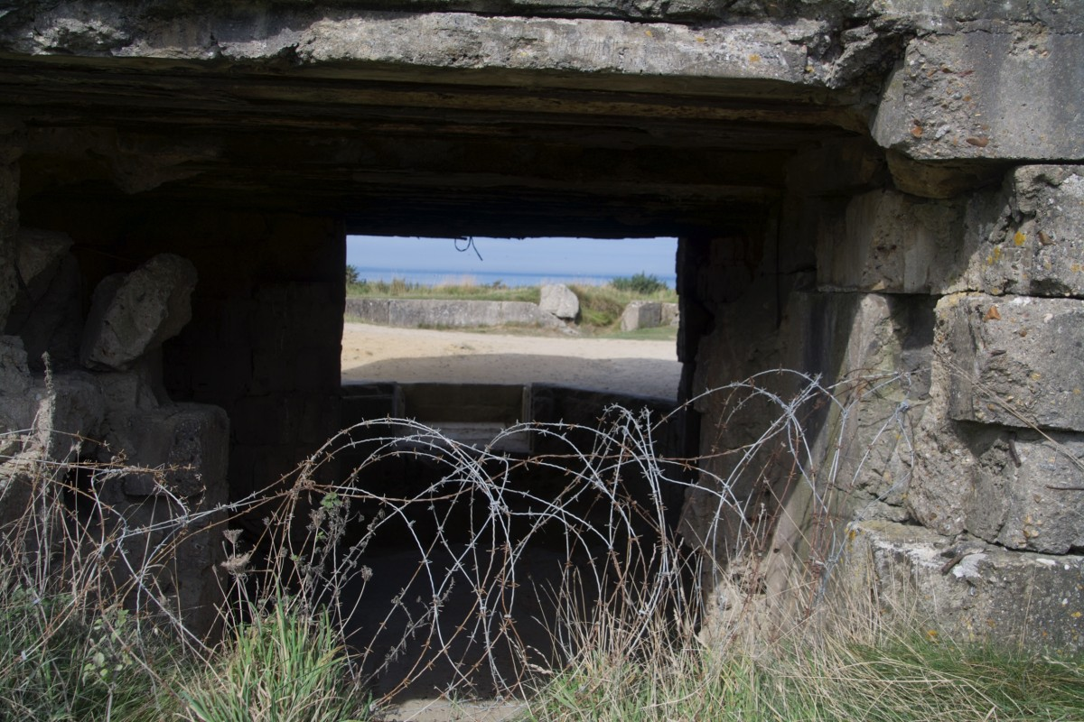 Point du Hoc, Normandië