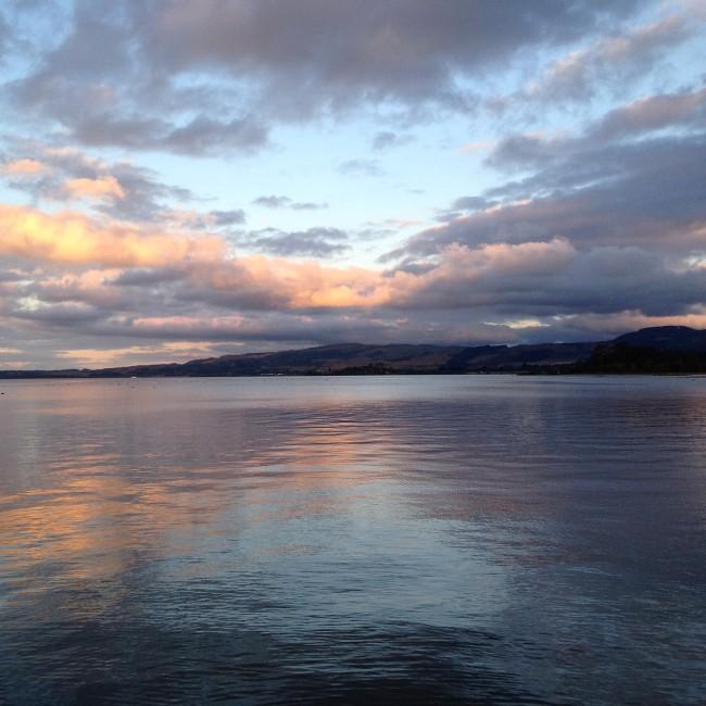 Sunset Rotorua