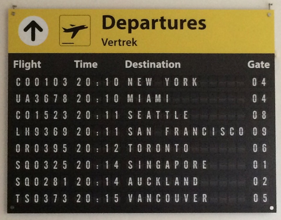 Airpart Departures