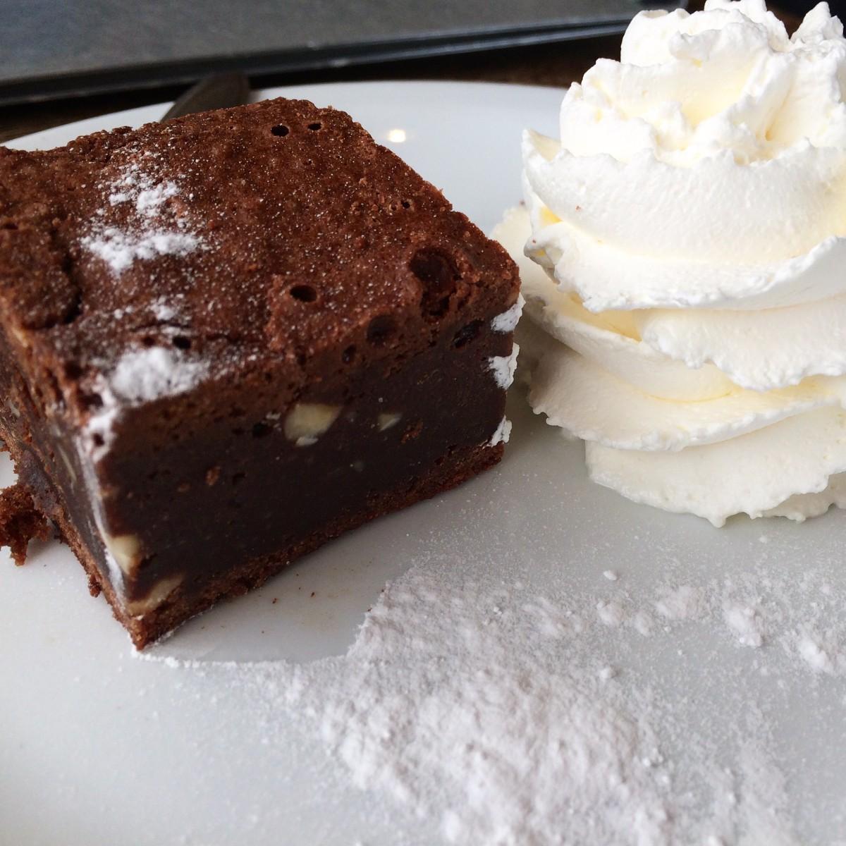 Brownie op Texel