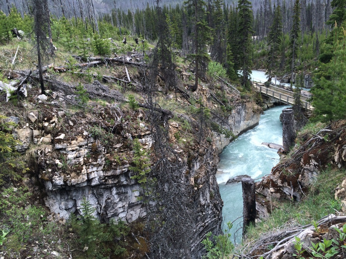 Marble Canyon, Kootenay National Park, Canada