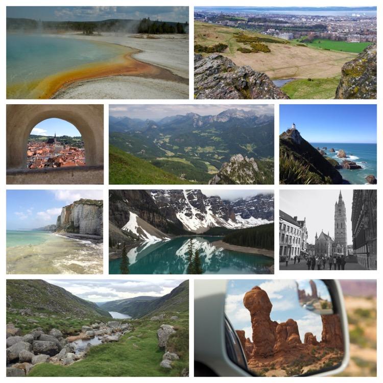 Top 10 mooiste bestemmingen ter wereld