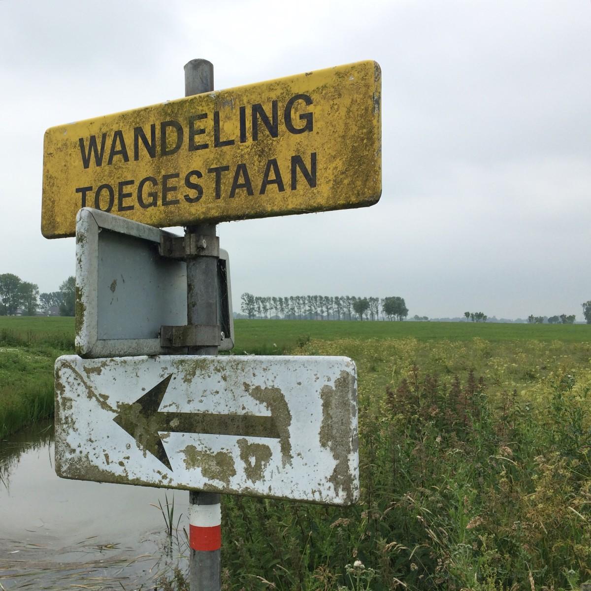 Pieterpad, Groningen