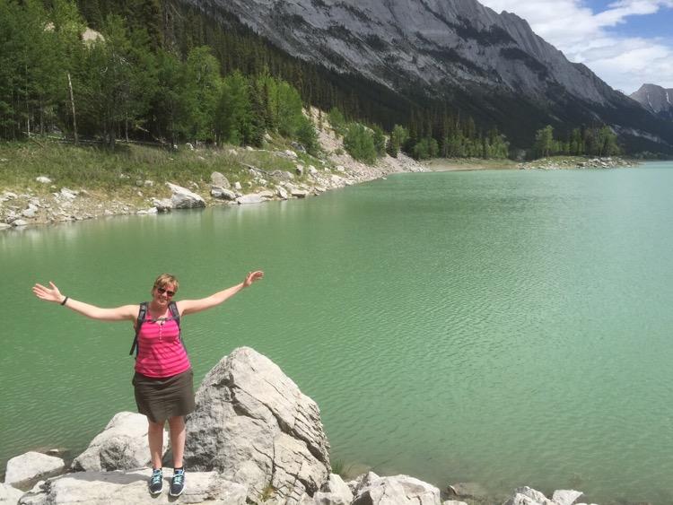 Marcella, Medicine Lake, Canada