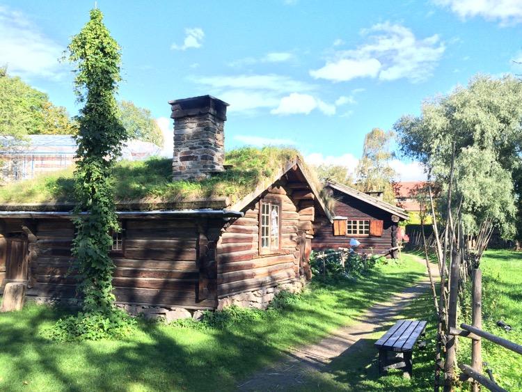 Norwegian Folk Museum, Bygdøy, Oslo, Norway