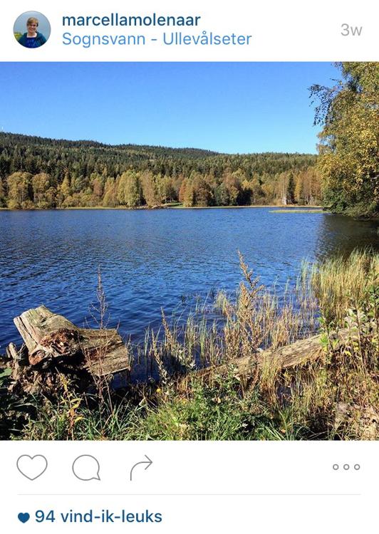 Sognsvann Vakre, Norway