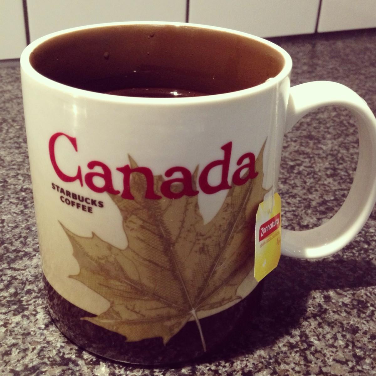 Starbucks mok Canada