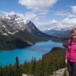 Marcella, Peyto Lake, Alberta, Canada