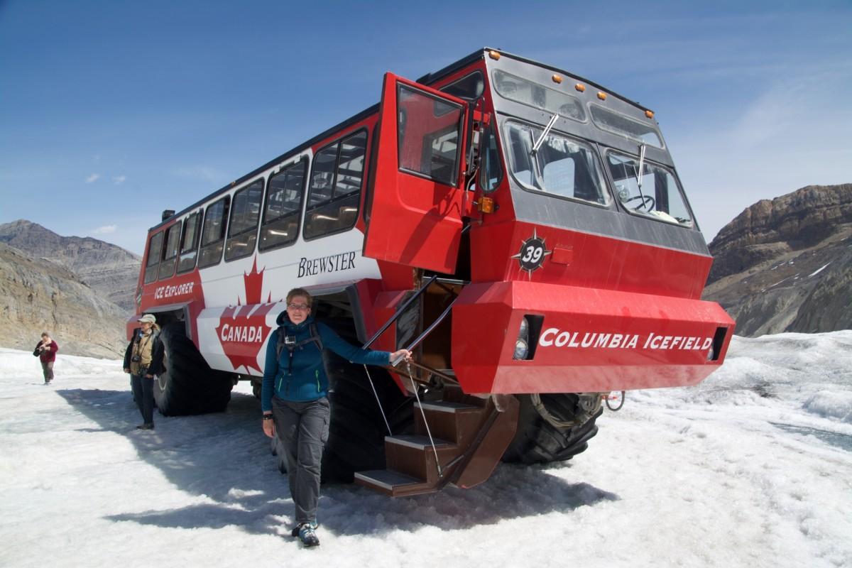 Marcella, Athabasca glacier, Canada