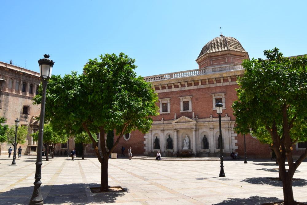Plaza Patriarca Valencia Spain
