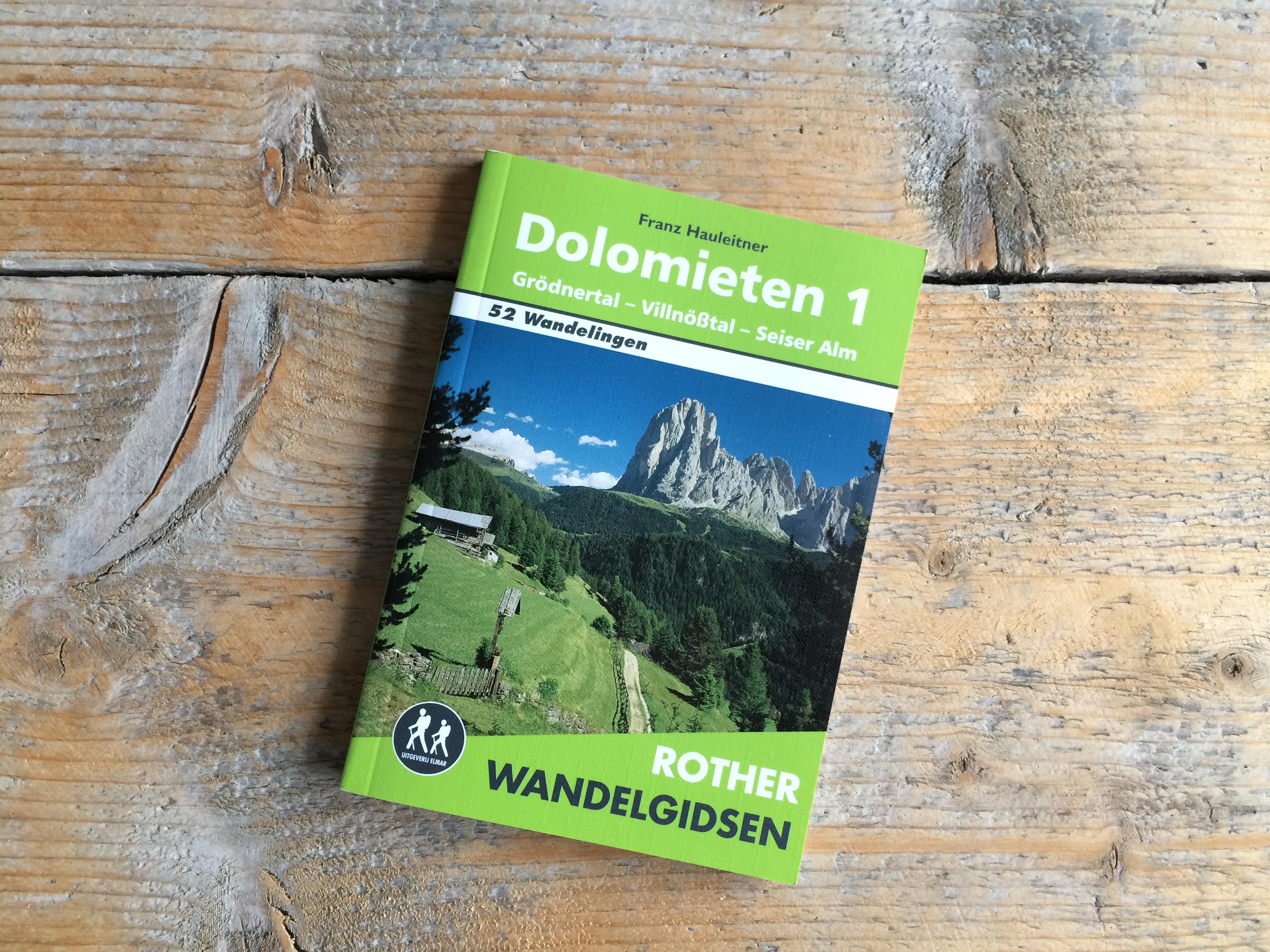 Wandelgids Rother Dolomieten 1
